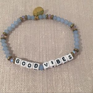 Little Words Project Good Vibes Bracelet